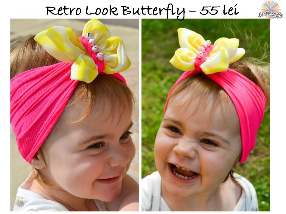Retro Look Butterfly